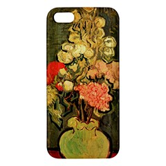 Still Life Vase With Rose Mallows By Vincent Van Gogh 1890  iPhone 5 Premium Hardshell Case
