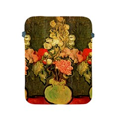 Still Life Vase With Rose Mallows By Vincent Van Gogh 1890  Apple iPad 2/3/4 Protective Soft Case