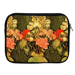 Still Life Vase With Rose Mallows By Vincent Van Gogh 1890  Apple iPad 2/3/4 Zipper Case
