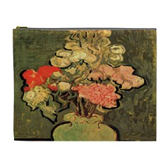 Still Life Vase With Rose Mallows By Vincent Van Gogh 1890  Cosmetic Bag (XL)