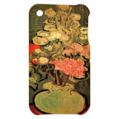 Still Life Vase With Rose Mallows By Vincent Van Gogh 1890  Apple iPhone 3G/3GS Hardshell Case