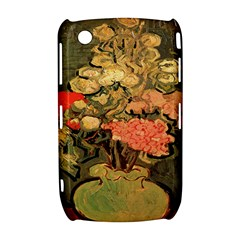Still Life Vase With Rose Mallows By Vincent Van Gogh 1890  BlackBerry Curve 8520 9300 Hardshell Case