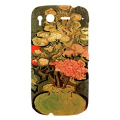 Still Life Vase With Rose Mallows By Vincent Van Gogh 1890  HTC Desire S Hardshell Case