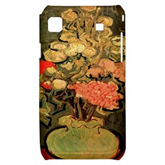 Still Life Vase With Rose Mallows By Vincent Van Gogh 1890  Samsung Galaxy S i9000 Hardshell Case