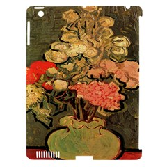 Still Life Vase With Rose Mallows By Vincent Van Gogh 1890  Apple iPad 3/4 Hardshell Case (Compatible with Smart Cover)