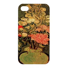 Still Life Vase With Rose Mallows By Vincent Van Gogh 1890  Apple iPhone 4/4S Premium Hardshell Case