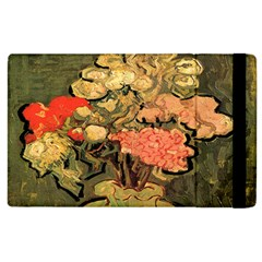 Still Life Vase With Rose Mallows By Vincent Van Gogh 1890  Apple iPad 2 Flip Case