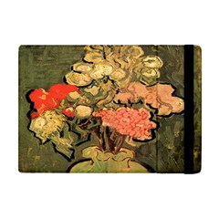 Still Life Vase With Rose Mallows By Vincent Van Gogh 1890  Apple iPad Mini Flip Case