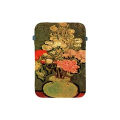 Still Life Vase With Rose Mallows By Vincent Van Gogh 1890  Apple iPad Mini Protective Soft Case