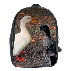 two ducks, best friend s School Bag (Large)