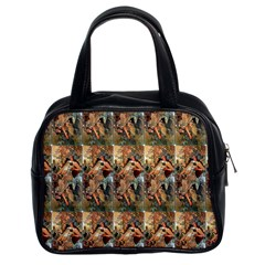 Autumn By Alfons Mucha 1896 Classic Handbag (Two Sides)
