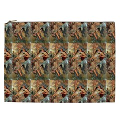 Autumn By Alfons Mucha 1896 Cosmetic Bag (XXL)