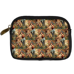 Autumn By Alfons Mucha 1896 Digital Camera Leather Case
