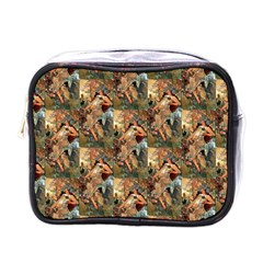 Autumn By Alfons Mucha 1896 Mini Travel Toiletry Bag (One Side)