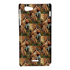 Autumn By Alfons Mucha 1896 Sony Xperia J Hardshell Case
