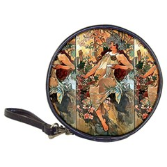 Autumn By Alfons Mucha 1896 CD Wallet
