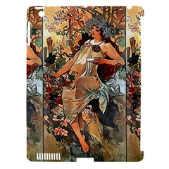 Autumn By Alfons Mucha 1896 Apple iPad 3/4 Hardshell Case (Compatible with Smart Cover)