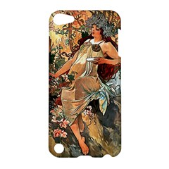 Autumn By Alfons Mucha 1896 Apple iPod Touch 5 Hardshell Case