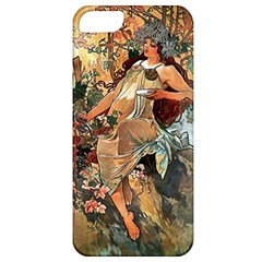 Autumn By Alfons Mucha 1896 Apple iPhone 5 Classic Hardshell Case