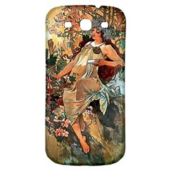 Autumn By Alfons Mucha 1896 Samsung Galaxy S3 S III Classic Hardshell Back Case