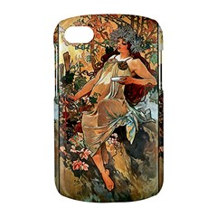 Autumn By Alfons Mucha 1896 Blackberry Q10 Hardshell Case