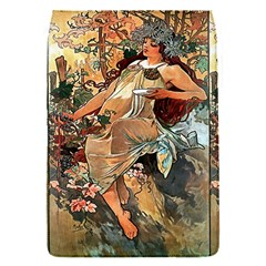 Autumn By Alfons Mucha 1896 Removable Flap Cover (Small)