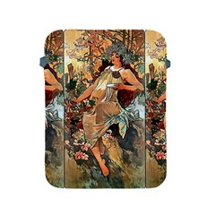 Autumn By Alfons Mucha 1896 Apple iPad 2/3/4 Protective Soft Case