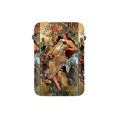 Autumn By Alfons Mucha 1896 Apple iPad Mini Protective Soft Case