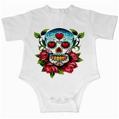 Sugar Skull Infant Creeper