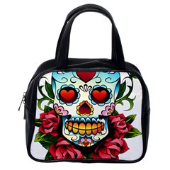 Sugar Skull Classic Handbag (One Side)
