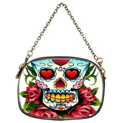 Sugar Skull Chain Purse (One Side)