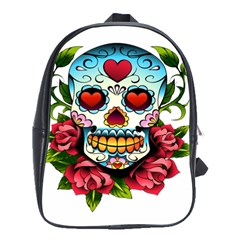 Sugar Skull School Bag (Large)