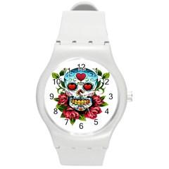 Sugar Skull Plastic Sport Watch (Medium)