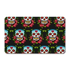 Sugar Skull Magnet (Rectangular)