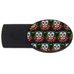 Sugar Skull 4GB USB Flash Drive (Oval)