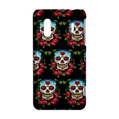 Sugar Skull HTC Evo Design 4G/ Hero S Hardshell Case