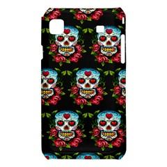 Sugar Skull Samsung Galaxy S i9008 Hardshell Case