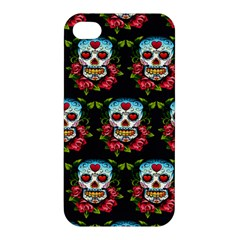 Sugar Skull Apple iPhone 4/4S Premium Hardshell Case