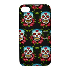 Sugar Skull Apple iPhone 4/4S Hardshell Case with Stand