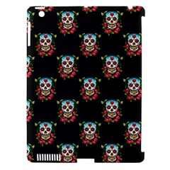 Sugar Skull Apple iPad 3/4 Hardshell Case (Compatible with Smart Cover)