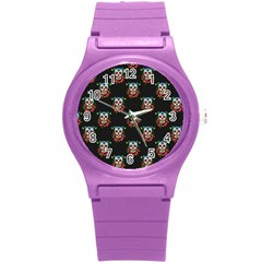 Sugar Skull Plastic Sport Watch (Small)