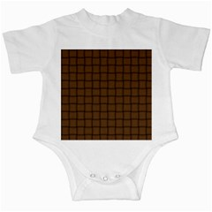 Brown Nose Weave Infant Creeper