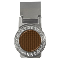Brown Nose Weave Money Clip (CZ)