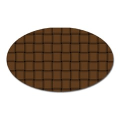 Brown Nose Weave Magnet (Oval)