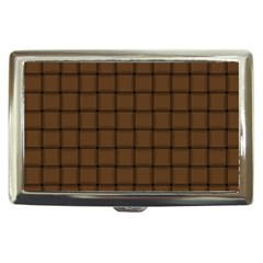 Brown Nose Weave Cigarette Money Case
