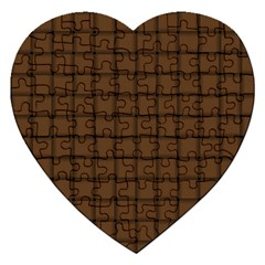Brown Nose Weave Jigsaw Puzzle (Heart)