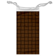 Brown Nose Weave Jewelry Bag