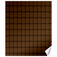 Brown Nose Weave Canvas 8  x 10  (Unframed)