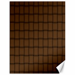 Brown Nose Weave Canvas 12  x 16  (Unframed)