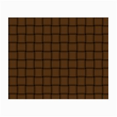 Brown Nose Weave Glasses Cloth (Small, Two Sided)